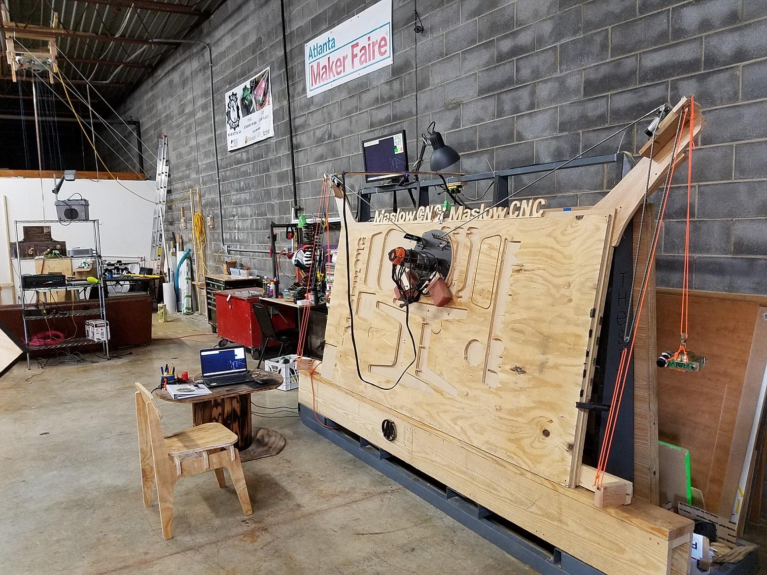 Maslow Cnc The Maker Station